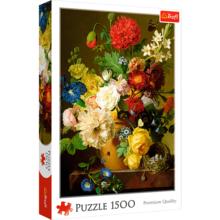 Пазл Trefl, 1500 элементов - Натюрморт с цветами