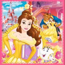 Набор пазлов Trefl, 3в1 (20+36+50) элементов - Заколдованный мир принцесс