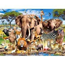 Пазл Castorland, 200 элементов - Животные Саванны