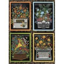 Пазл Cobble Hill, 1000 элементов - Цветочные мотивы