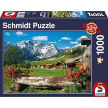 Пазл Schmidt, 1000 элементов - Вид на горы