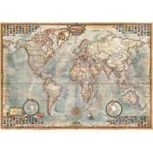 Пазл Educa, 1500 элементов - Политическая карта