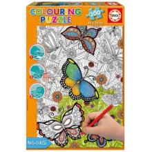 Пазл Educa, 300 элементов - Бабочки